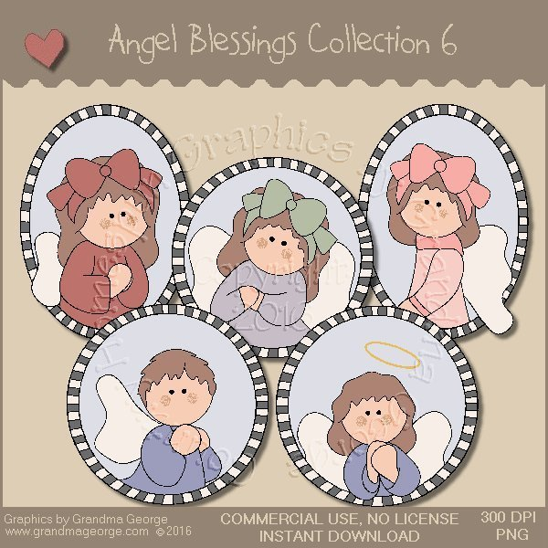 Angel Blessings Country Graphics Collection Vol. 6