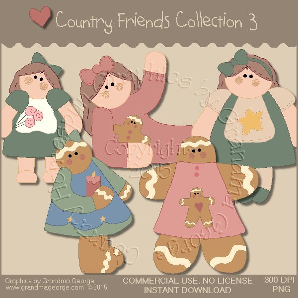 Country Friends Graphics Collection Vol. 3
