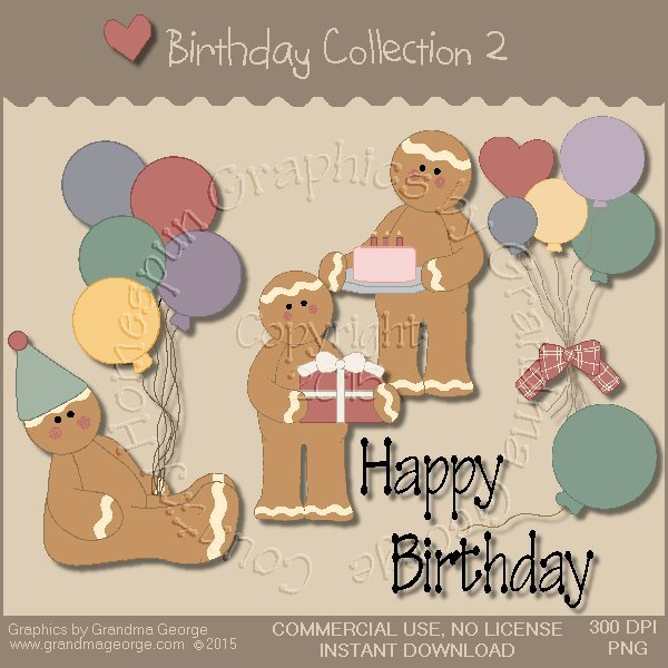 Birthday Graphics Collection Vol. 2