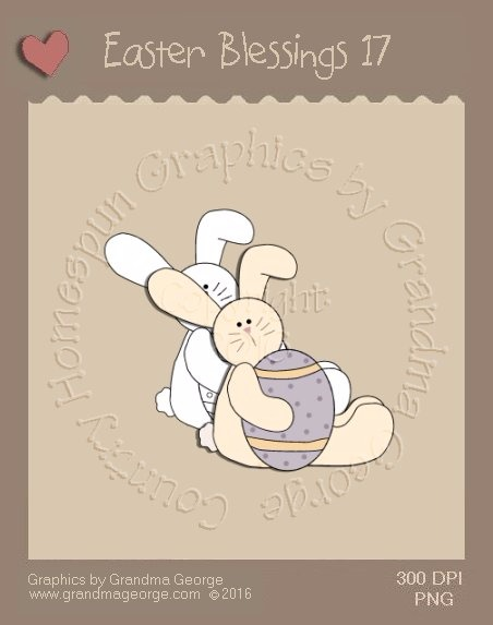 Easter Blessings Single Country Graphic 17