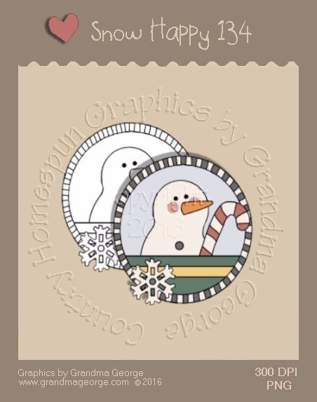 Snow Happy Single Country Graphic 134