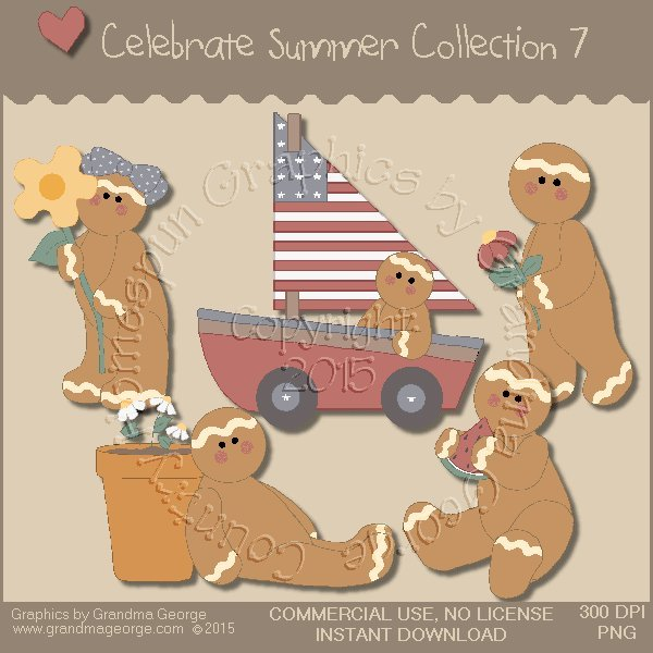 Celebrate Summer Country Graphics Collection Vol. 7