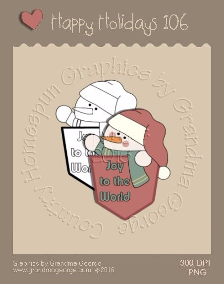 Happy Holidays Christmas Single Country Graphic 106