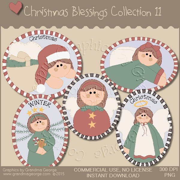 Christmas Blessings Graphics Collection Vol. 11