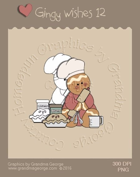Gingy Wishes Single Country Graphic 12