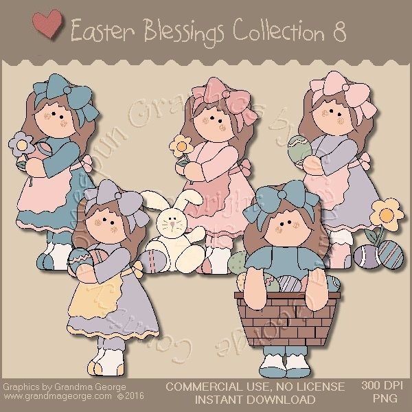 Easter Blessings Country Graphics Collection Vol. 8