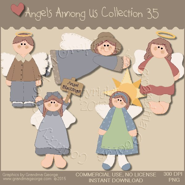 Angels Among Us Graphics Collection Vol. 35