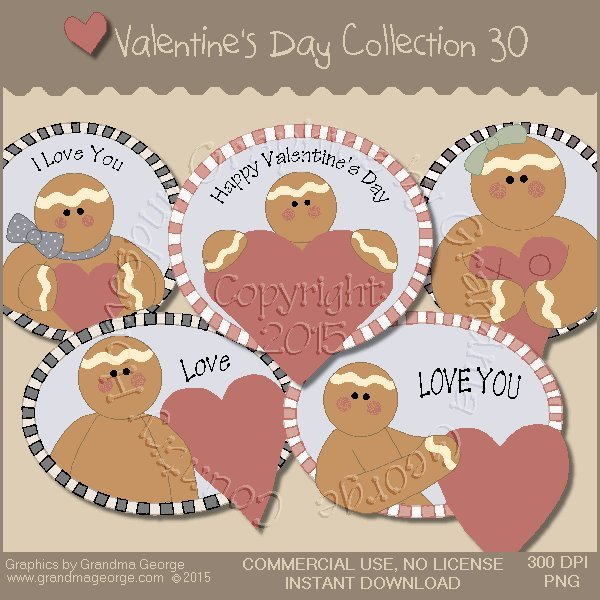 Valentine's Day Graphics Collection Vol. 30