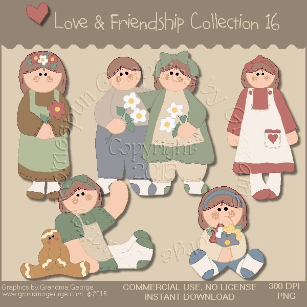 Love & Friendship Graphics Collection Vol. 16