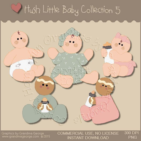Hush Little Baby Graphics Collection Vol. 5