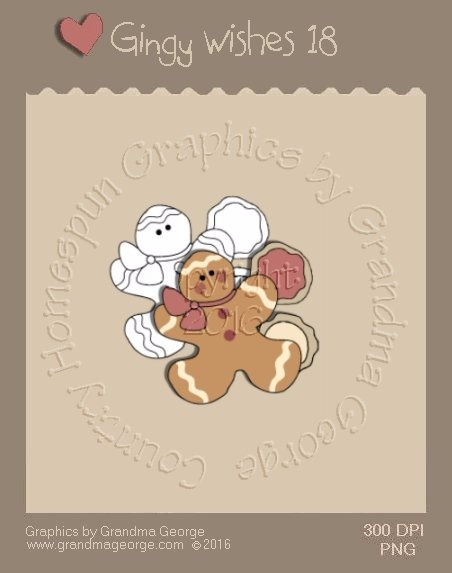 Gingy Wishes Single Country Graphic 18
