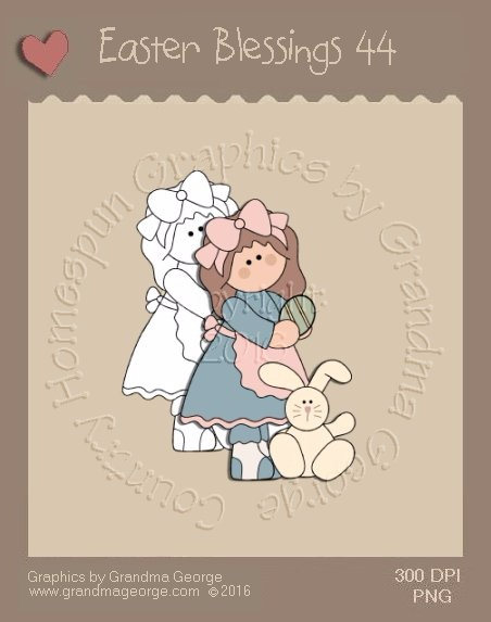 Easter Blessings Single Country Graphic 44