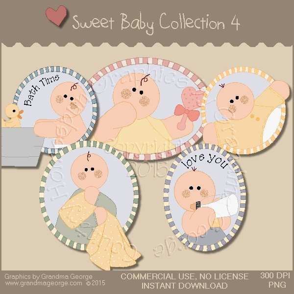 Sweet Baby Graphics Collection Vol. 4