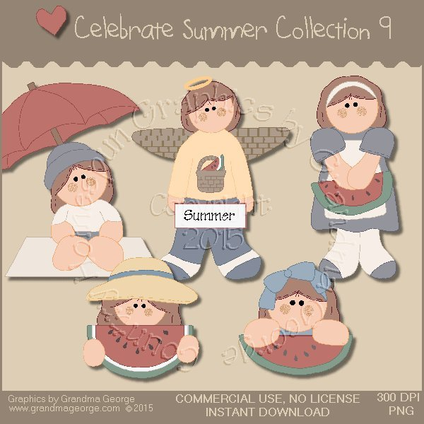 Celebrate Summer Country Graphics Collection Vol. 9