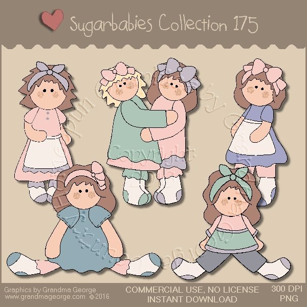 Sugarbabies Country Graphics Collection Vol. 175
