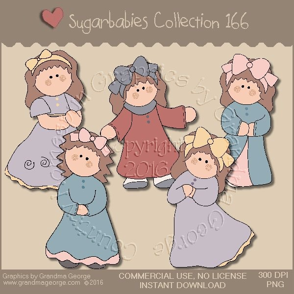 Sugarbabies Country Graphics Collection Vol. 166