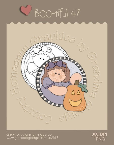 BOO-tiful - Halloween Single Country Graphic 47