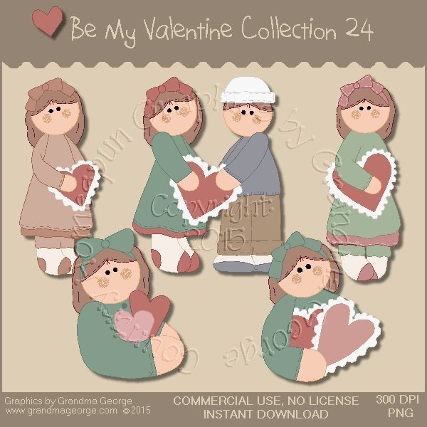 Be My Valentine Graphics Collection Vol. 24