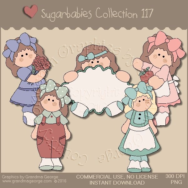 Sugarbabies Country Graphics Collection Vol. 117