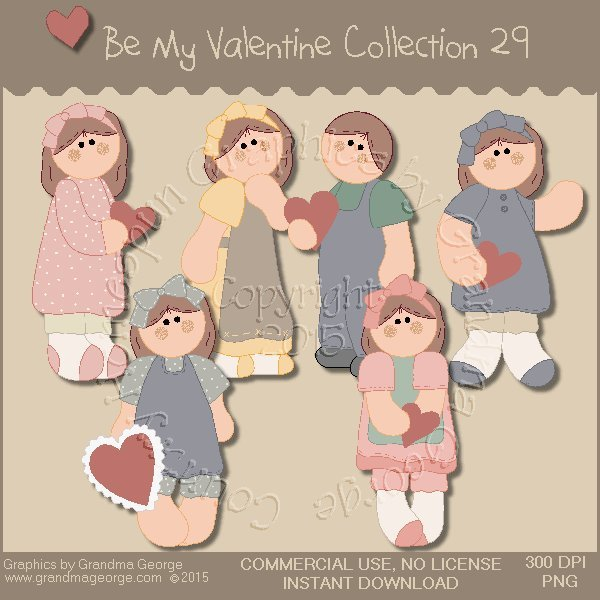 Be My Valentine Graphics Collection Vol. 29