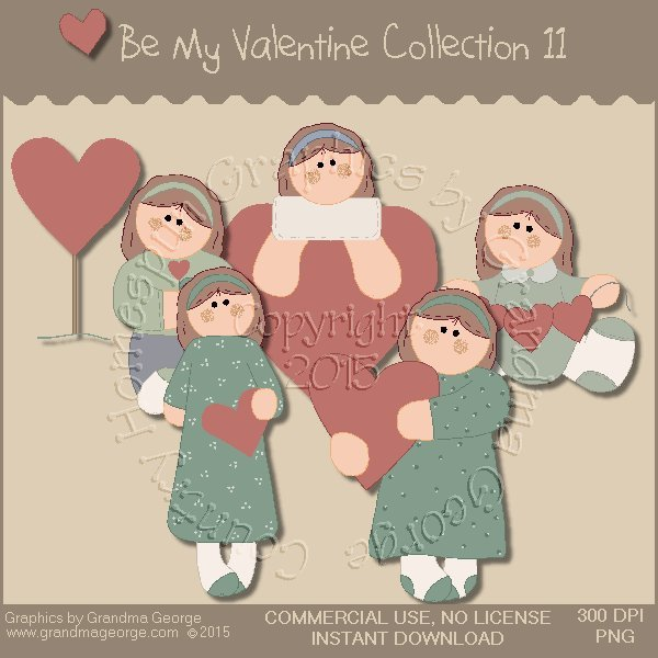 Be My Valentine Graphics Collection Vol. 11