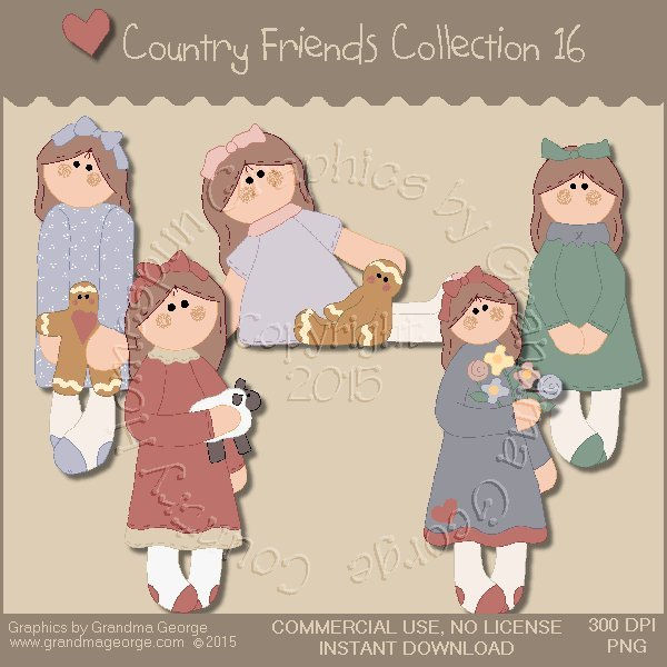 Country Friends Graphics Collection Vol. 16
