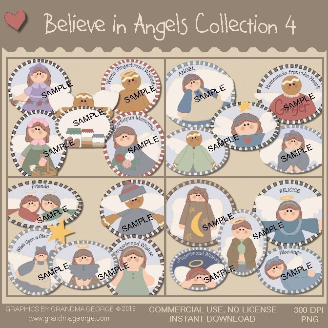 Believe in Angels Graphics Collection Vol. 4