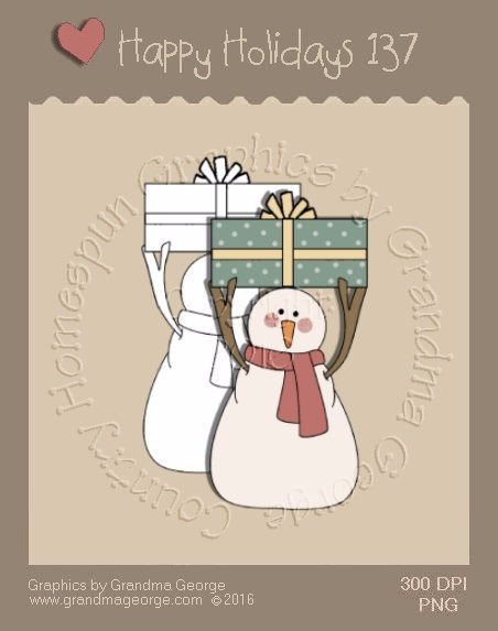 Happy Holidays Christmas Single Country Graphic 137