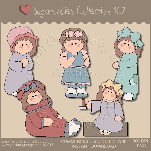 Sugarbabies Country Graphics Collection Vol. 167