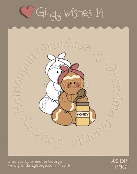 Gingy Wishes Single Country Graphic 14