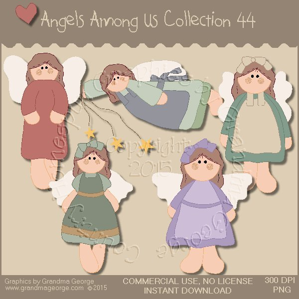 Angels Among Us Graphics Collection Vol. 44