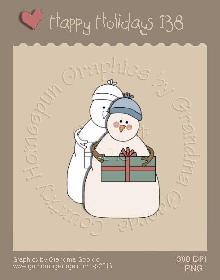 Happy Holidays Christmas Single Country Graphic 138