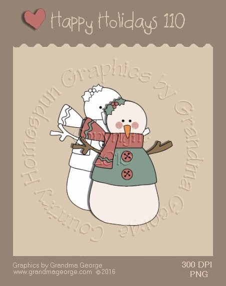 Happy Holidays Christmas Single Country Graphic 110