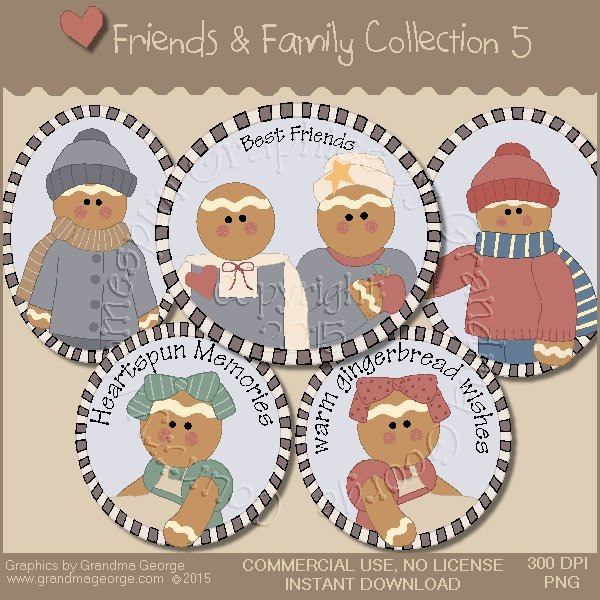 Friends & Family Graphics Collection Vol. 5