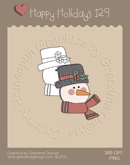 Happy Holidays Christmas Single Country Graphic 129
