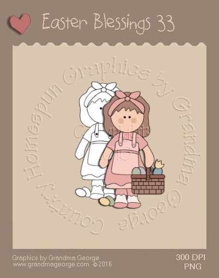 Easter Blessings Single Country Graphic 33