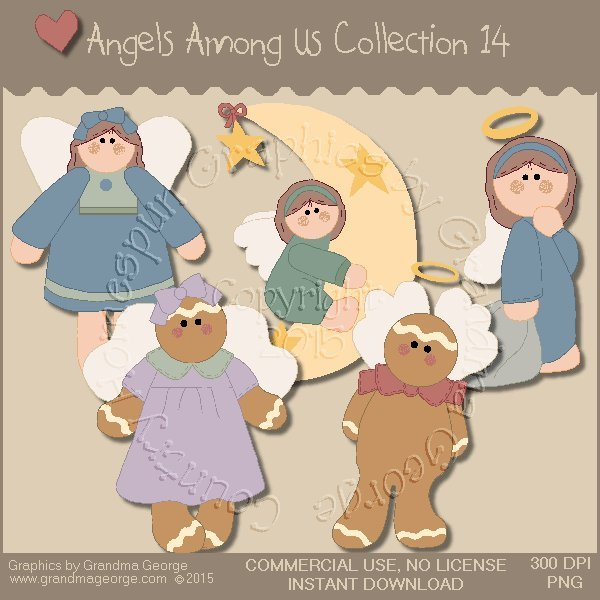 Angels Among Us Graphics Collection Vol. 14