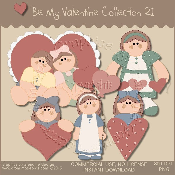 Be My Valentine Graphics Collection Vol. 21