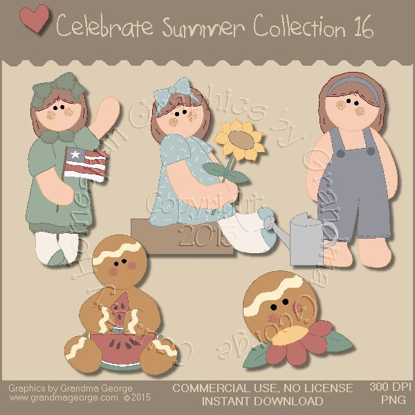 Celebrate Summer Country Graphics Collection Vol. 16