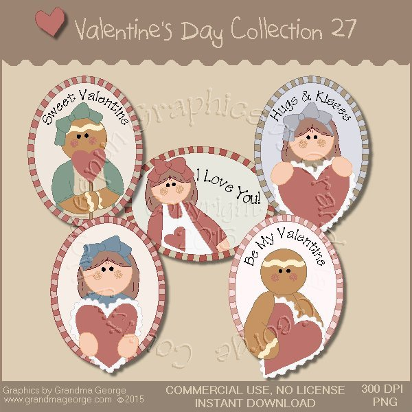 Valentine's Day Graphics Collection Vol. 27