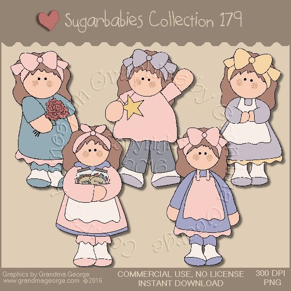 Sugarbabies Country Graphics Collection Vol. 179