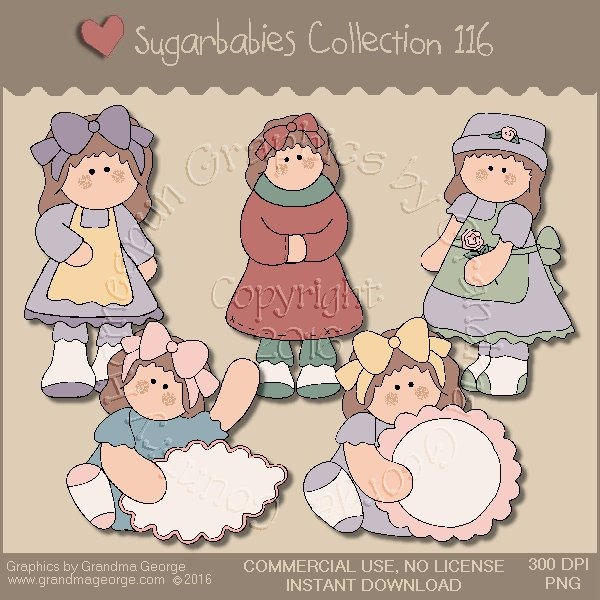 Sugarbabies Country Graphics Collection Vol. 116
