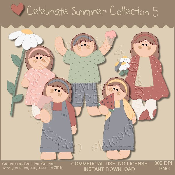 Celebrate Summer Country Graphics Collection Vol. 5