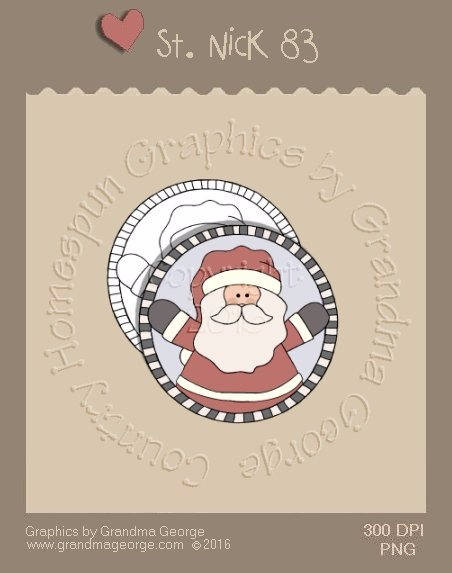 St. Nick Single Country Graphic 83