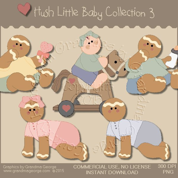 Hush Little Baby Graphics Collection Vol. 3