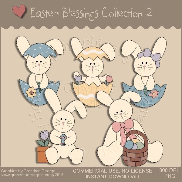 Easter Blessings Country Graphics Collection Vol. 2