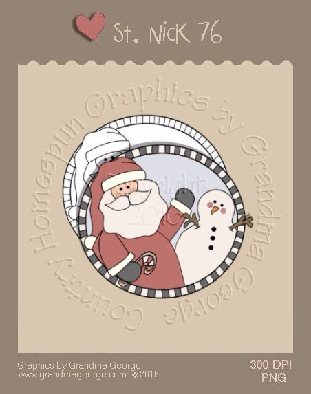 St. Nick Single Country Graphic 76