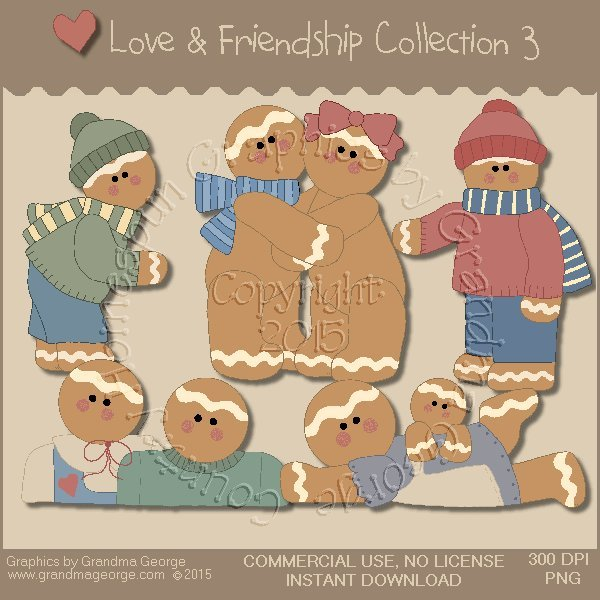 Love & Friendship Graphics Collection Vol. 3