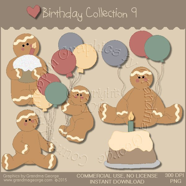 Birthday Graphics Collection Vol. 9