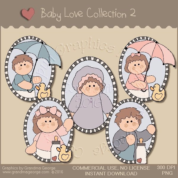 Baby Love Country Graphics Collection Vol. 2
